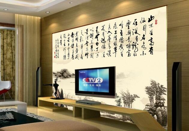 客厅背景装饰画给客厅装修多一道亮丽