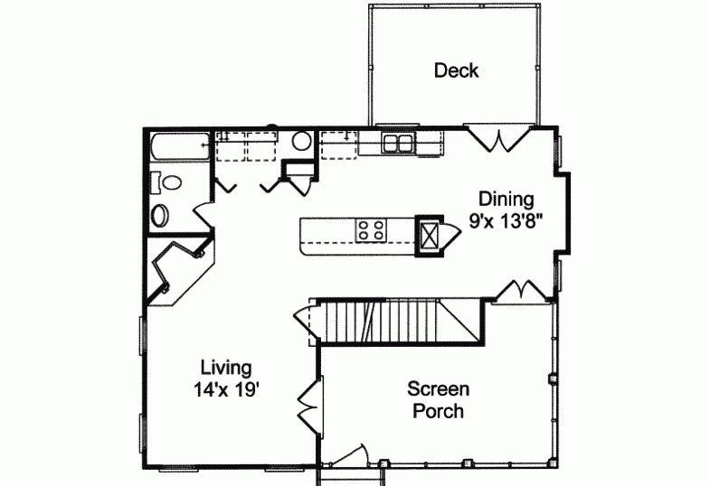 带架空层农村别墅装修 带架空层自建房屋设计图纸       地面的一层