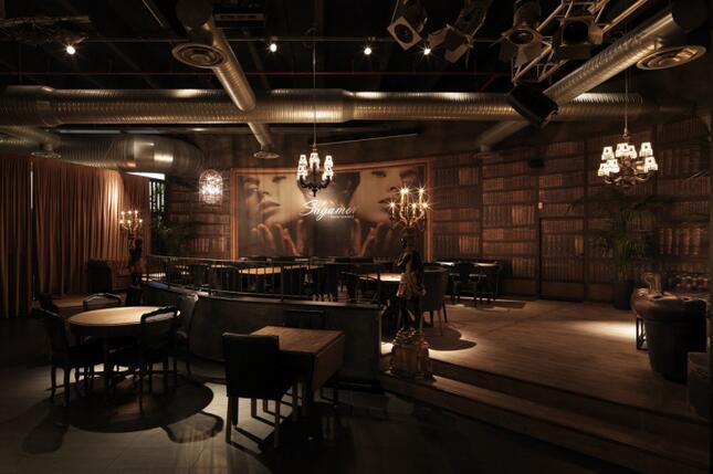 餐厅装修之主题餐厅灯光设计图片