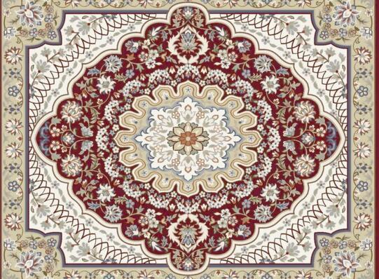 手工地毯的编织方法也变得丰富