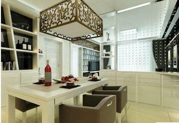 正方形餐厅装修设计方法 正方形餐厅设计图