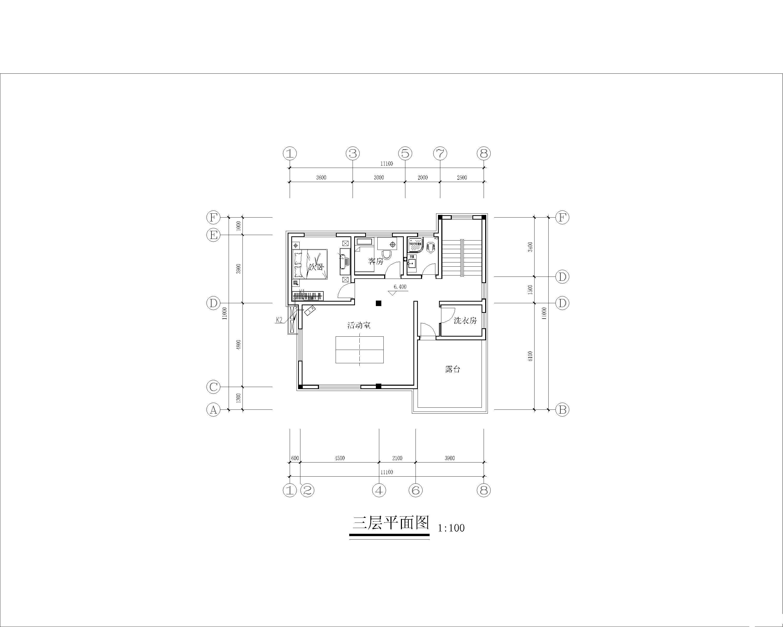 带车库三层农村别墅装修设计