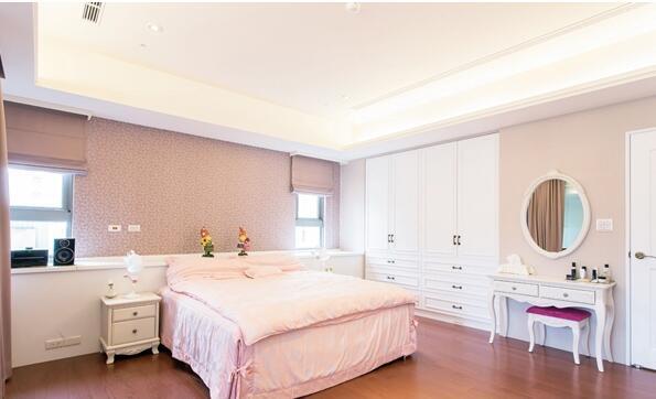 卧室墙布的安装设计工艺 主卧室墙布效果图高清图片