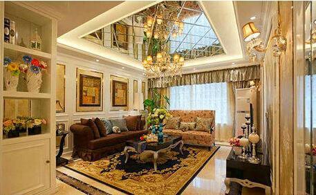 客厅镜面吊顶装修注意事项 客厅镜面吊顶装修效果图