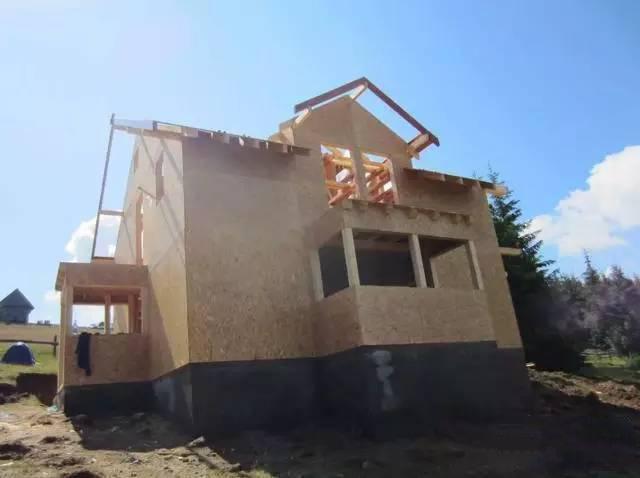 木质自建房别墅装修 木屋别墅地基施工全过程