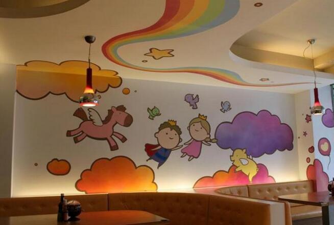 幼儿园室内墙面装饰设计