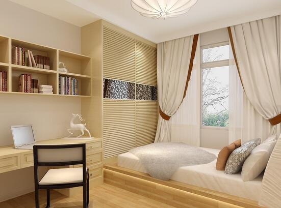 那么,4平方米卧室装修如何操作?有哪些可以利用的空间?