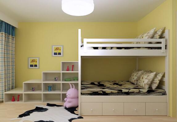 收纳tips4:在卧室角落里打造一个开放式的收纳空间,摆放绿色的