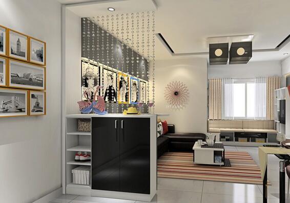 8款客厅珠帘隔断装饰设计 8款客厅珠帘隔断效果图