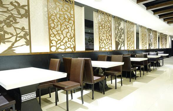 台式茶餐厅装修设计 台式茶餐厅装修效果图图片