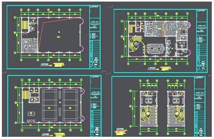 办公室装修设计规划 办公室装修平面图