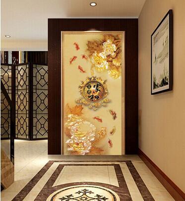 进门玄关壁画什么好&nbsp;<wbr>玄关壁画风水有哪些讲究?