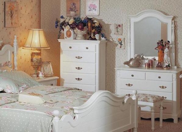 卧室斗柜效果图:英式风格