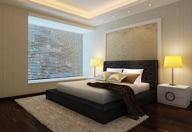 卧室斗柜效果图:现代风格
