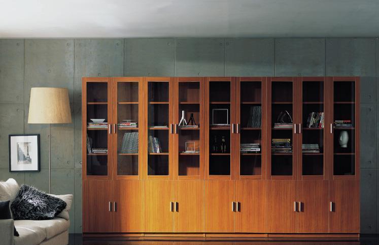 组合书柜价格是多少 组合书柜安装方法介绍图片