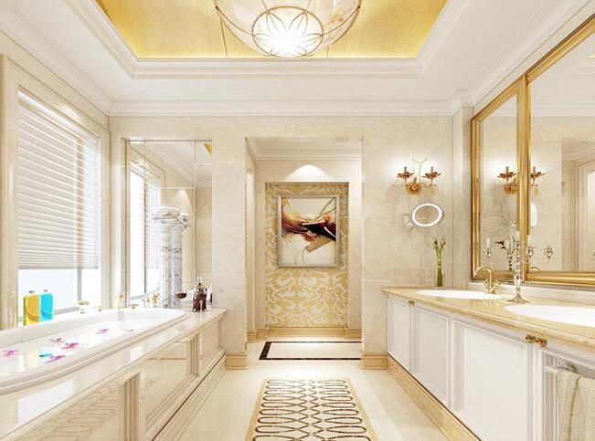 豪华的卫生间装修设计 豪华的卫生间装修效果图