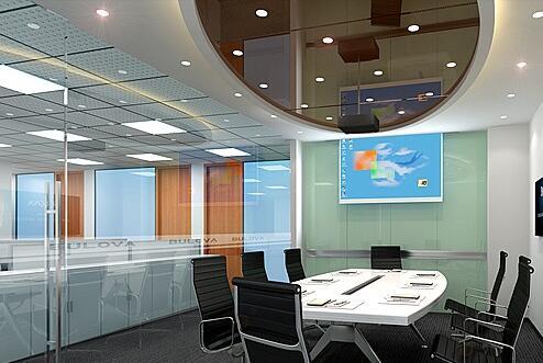 现代化办公室装修的几大关键要素介绍