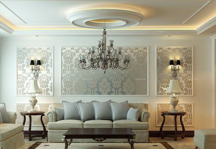 七种常见家装石膏吊顶造型设计方法