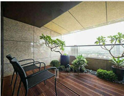 阳台墙面装修材料 阳台墙面装修