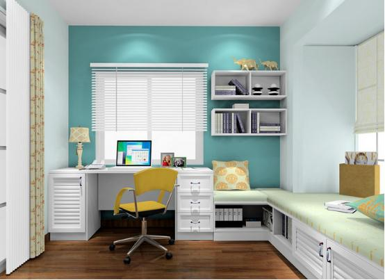 5平方书房装修设计 5平方书房装修效果图案例