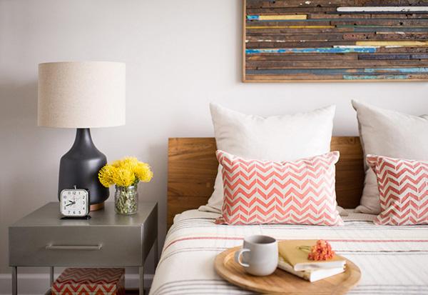 北欧风二居室装修案例 艺术气息浓郁且舒适的生活住宅图片