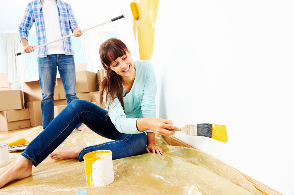 正确的墙面涂刷的方法