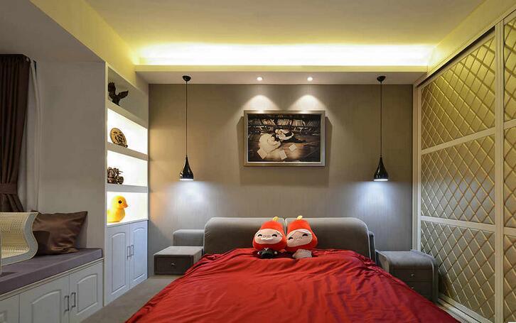 卧室柜子装修设计 卧室柜子设计图