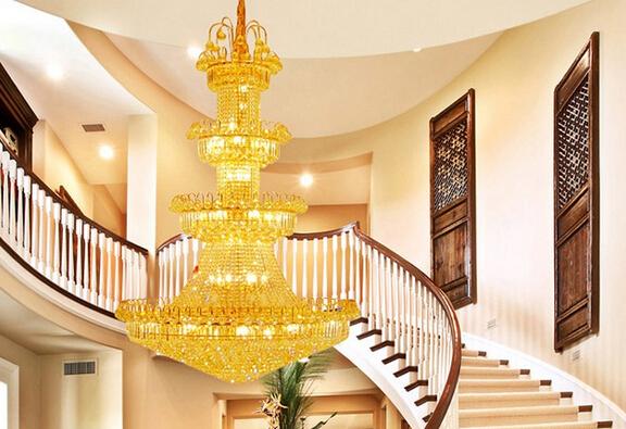 复式楼客厅吊灯特点介绍 复式楼客厅吊灯安装注意事项图片