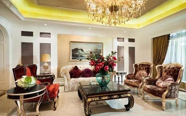 1000平欧式风格家居 奢华大气的生活住宅