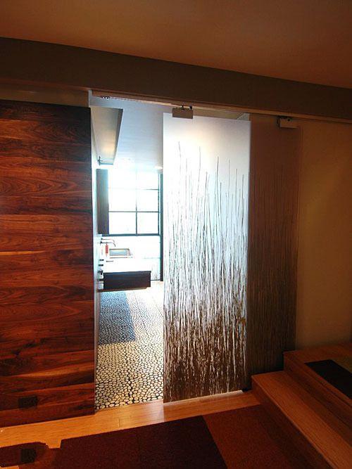 卧室玻璃门装修搭配 玻璃门卧室效果图