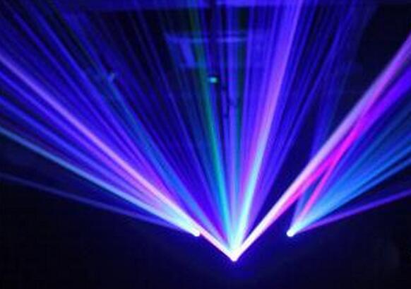 遥控3孔激光灯 40合1舞台灯光