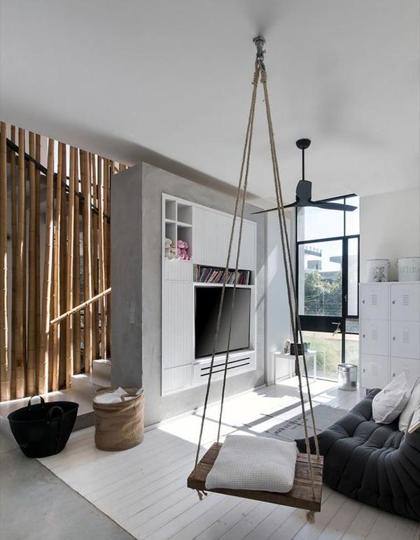 以色列现代简约风格设计 舒适自在的生活住宅