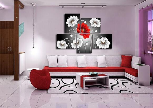客厅墙面装饰画