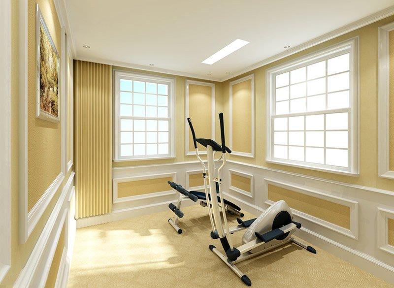 家用小型健身房的装修方案要点有哪些