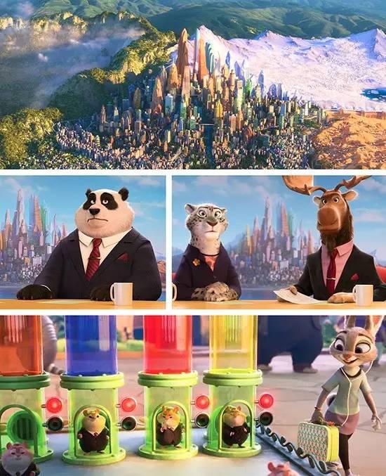儿童房之疯狂动物城,快乐色彩,燃爆童年