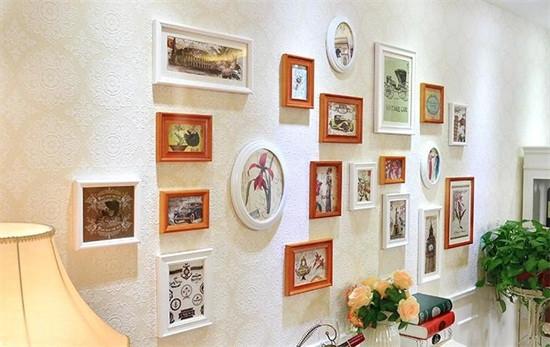 家里怎能少了照片墙 怎么摆放是重点