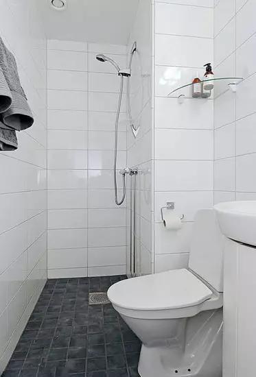 看小面积卫生间的n种设计方法!