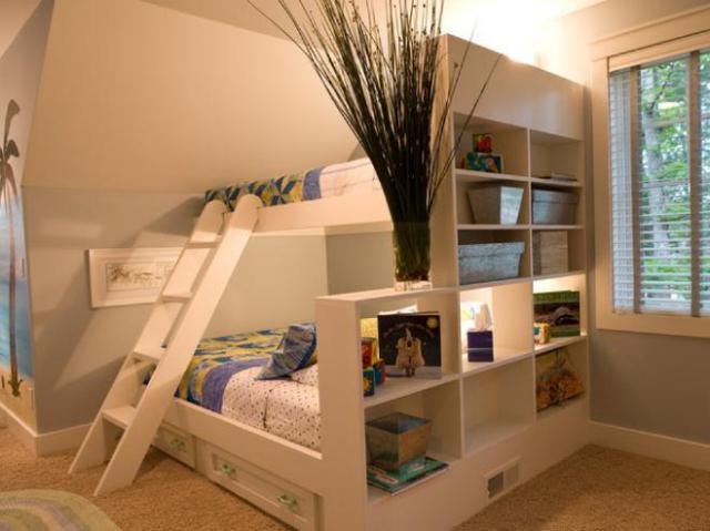 交换空间之好看又实用的高低床,你家有吗?