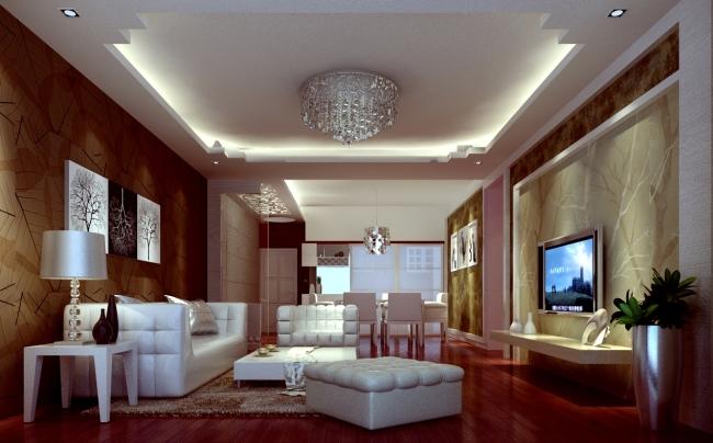 客厅是我们家中使用频率最多的地方,亲戚朋友来访,基本都在客厅接待他们。也因为这样,在整个家居空间里,我们对于客厅的点缀、装饰更不能马虎大意。但是考虑到空间的限制,我们就需要有一个合理的空间方案,来打造一个舒适的客厅,具体该怎么做呢? 第一、适当点缀  小客厅不适合摆放大家具,也不适合摆放太多应景的饰物,偶尔空间的留白会让空间更通透,也更能突出空间的主题。