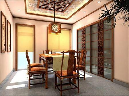 装修保障网 装修学堂 中式风格 中式风格二居室80平米装修案例!
