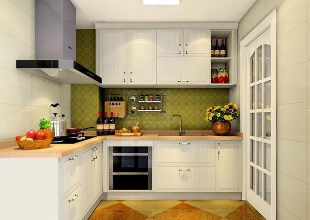 5平米小户型厨房装修 小户型L型厨房设计效果