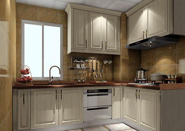 5平米小户型厨房装修!小户型l型厨房设计效果