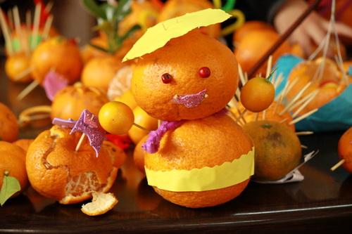 橘子皮粘贴画_生活小常识:吃橘子千万别扔橘子皮!功效多得你想不到