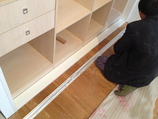 衣柜安装方法