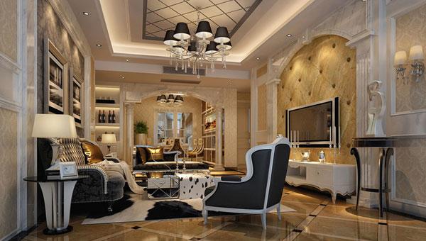 欧式风格别墅的无论是在建筑外观设计还是室内设计都是相当讲究的.