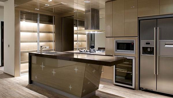 厨房该装修开放式庭院装修需注意400平米的厨房设计图图片