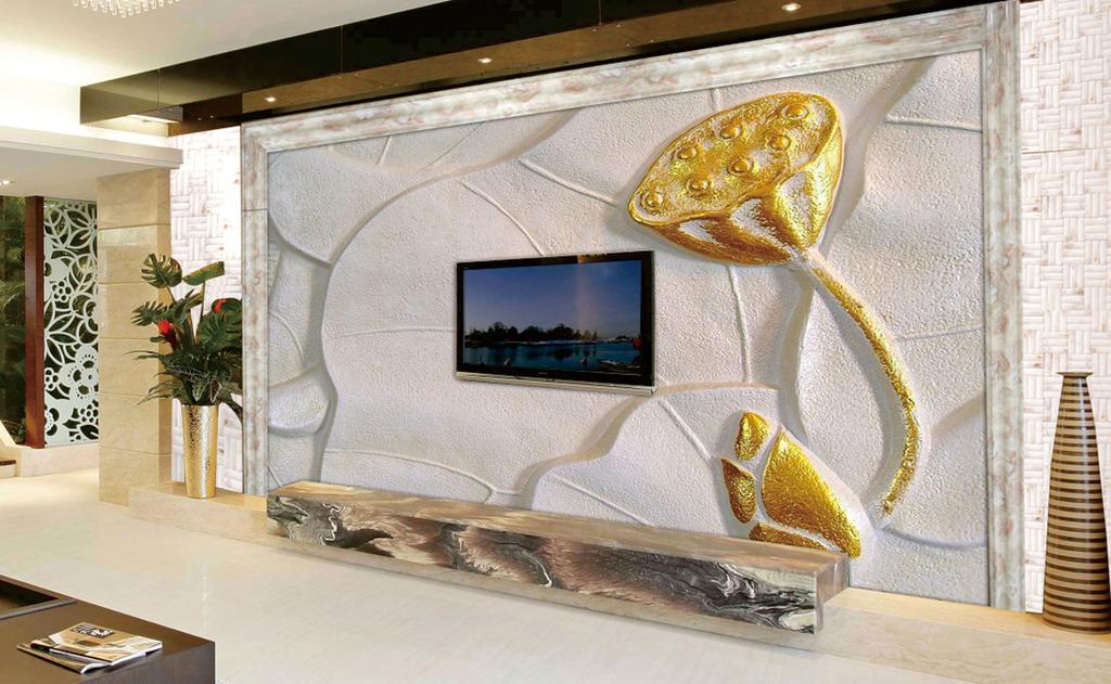 6个客厅电视背景墙风水 你知道几个?