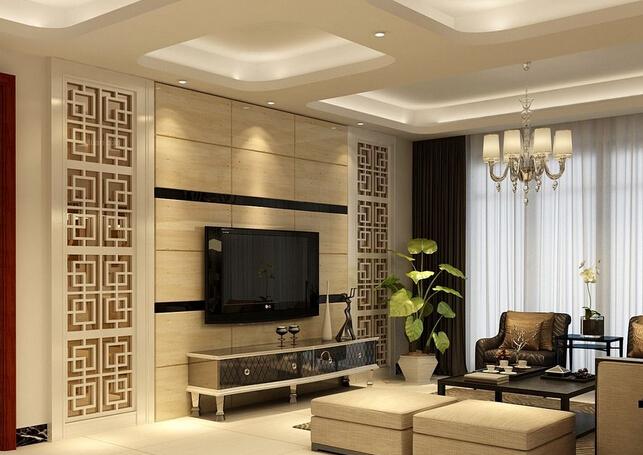 客厅电视背景墙的材料有哪些