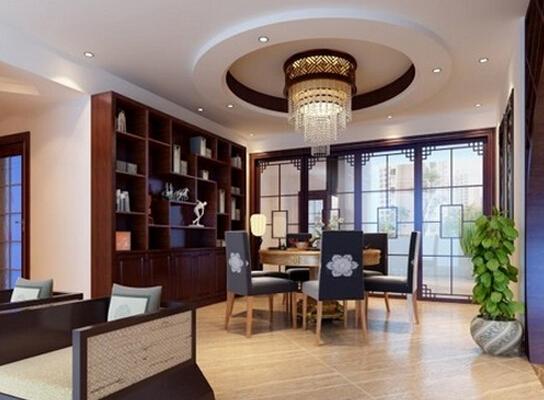 中式风格装修一直给人十分稳重、端庄的感觉,中式风格的餐厅设计也不例外。在中式餐厅中我们经常能够看见的是明清式的红木家具,墙上或挂着或手绘着一些水墨画,中国元素十分突出。如果你也喜欢中式风格的话,那么随装修保障网小编一起来看看中式餐厅设计说明吧!    餐厅适合什么颜色   餐厅装修一般的色彩配搭都是随着客厅的,因为目前国内多数的建筑设计,餐厅和客厅都是相通的,这主要是从空间感的角度来考量的。对于餐厅单置的构造,色彩的使用上,宜采用暖色系,因为在色彩心理学上来讲,暖色有利于促进食欲,这也就是为什么很多餐