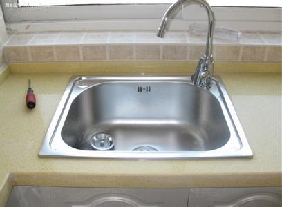 分享厨房水盆和水龙头选购技巧